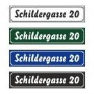 "Straßenschild ""Brush"" 60x13cm"