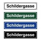 "Straßenschild ""Swiss"" 60x13cm"